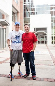 Pfc. Corey Garmon and Capt. Erik Johnson to talk about the Wounded Warrior Project