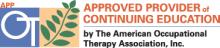 AOTA approved provider logo